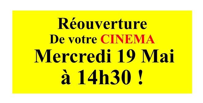 Réouverture Cinéma 2021