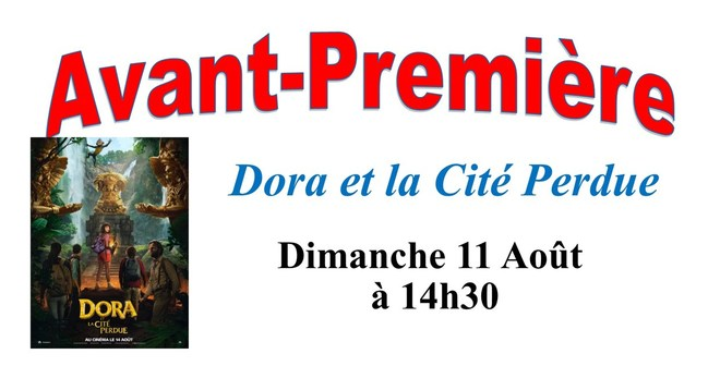 avp Dora et la Cité Perdue