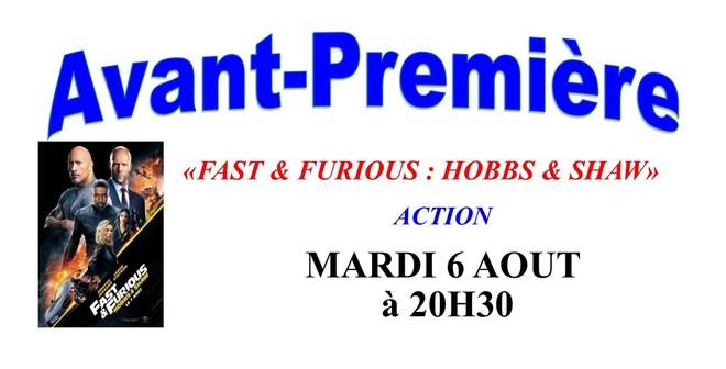 avp Fast & FURIOUS ; Hobbs & Shaw