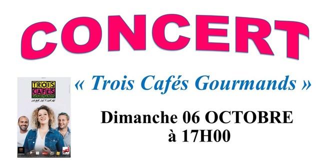Concert : Trois Cafés Gourmands