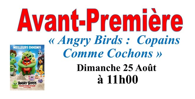 avp Angry Birds : Copains comme cochons