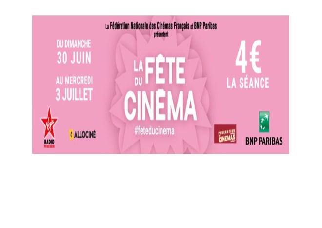 Fête du Cinéma 2019