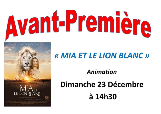 avp Mia et le Lion Blanc